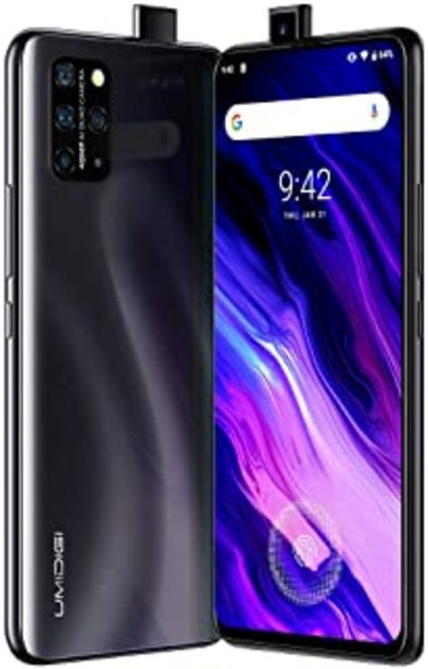 "Oferta de UMIDIGI S5 Pro Smartphone 6GB RAM + 256GB ROM Movils, 6.39""AMOLED Pantalla Completa, Procesador Octa-Core Movil Libre con ... por 215,99€"