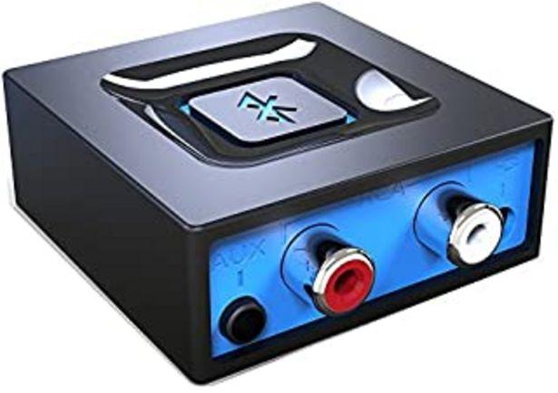 Oferta de Adaptador de audio de Bluetooth para el sistema de sonido de transmitir la música, Adaptador de audio inalámbrico de Esink... por 17,49€