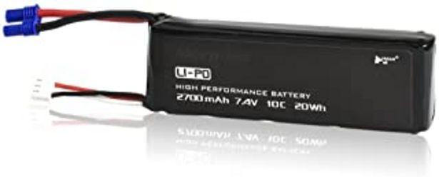 Oferta de HUBSAN Batería Recargable Original para H501S H501A H501M Drone por 17€