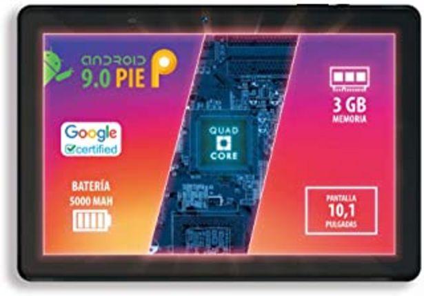 "Oferta de Talius Tablet 10,1"" Zircon 1015 Quad Core, Ram 3Gb, 32Gb, Android 9.0 por 115,95€"
