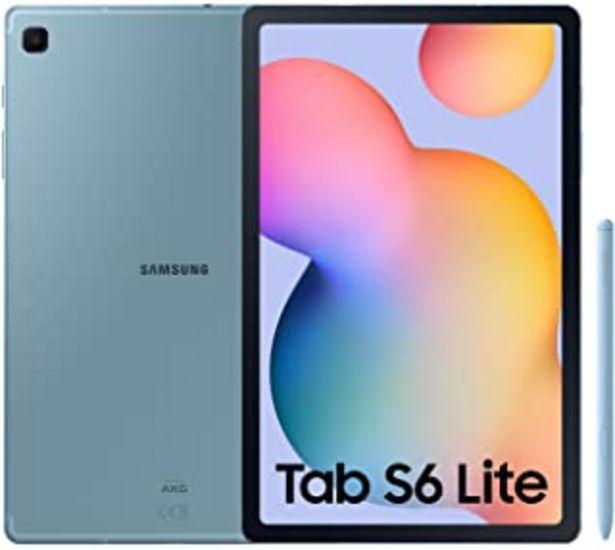 """Oferta de SAMSUNG Galaxy Tab S6 Lite - Tablet de 10.4\"""" (WiFi, Procesador Exynos 9611, RAM de 4GB, Almacenamiento de 64GB, Android 1... por 369€"""