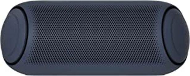 Oferta de LG XBOOM Go PL7 - Altavoz Bluetooth de 30W de Potencia con Sonido Meridian, autonomía 24 Horas, Bluetooth 5.0, protección ... por 99,1€