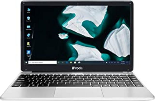 Oferta de Portatil, iProda Ordenador Portatil 14 Pulgadas Intel Celeron 5205U, 1.90GHz, Windows10 Pro Ordenador Portatil, 8GB RAM 25... por 323,56€