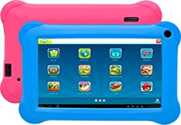 """Oferta de Denver TAQ-70352 BLUEPINK Tablet Quad Core de 7""""con KIDO'z y Android 8.1GO. 8 GB de Almacenamiento y 1 GB de RAM, Acceso C... por 54,42€"""