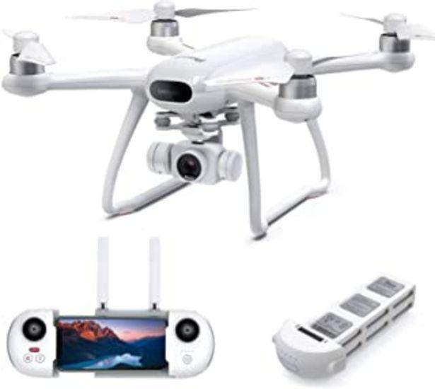Oferta de Potensic Drone Dreamer con cámara 4K para Adultos, 31 Minutos de Vuelo, GPS RC Quadcopter con Motores sin escobillas, Regr... por 239,99€