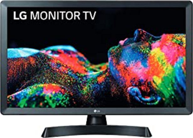 """Oferta de LG 28TL510S-PZ - Monitor Smart TV de 70cm (28"""") con Pantalla LED HD (1366x768, 16:9, DVB-T2/C/S2, WiFi, Miracast, USB Grab... por 185,35€"""