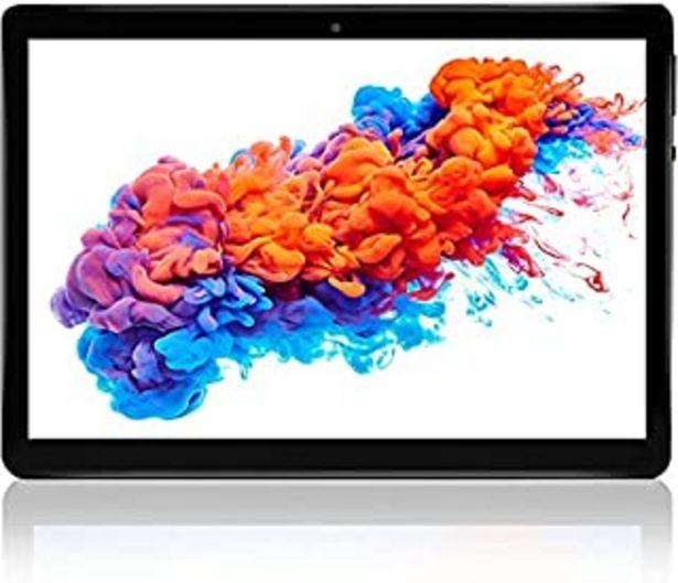 Oferta de Tablet 10.1'' Pulgadas Android 10 Tableta 4GB+64GB, TF 128GB con Certificación Google, Dual SIM/GPS/Bluetooth/Type-C por 107,99€