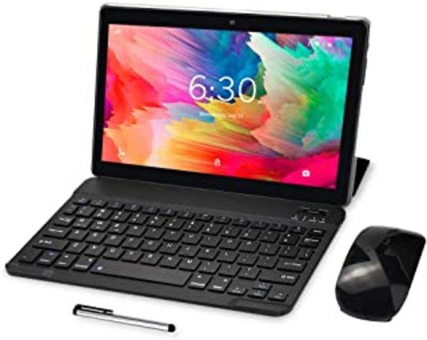 Oferta de 4G LTE Tablet 10 Pulgadas - BEISTA Android 10.0 Certificado por Google GMS,4 GB de RAM,64 GB de ROM,Dual SIM,Quad Core, 12... por 119,98€