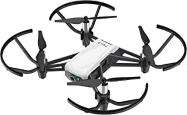 Oferta de Ryze Dji Tello Mini Dron Ideal para Videos Cortos con Tomas EZ, Gafas VR y Compatibilidad con Dispositivos de Juego, Trans... por 99,99€