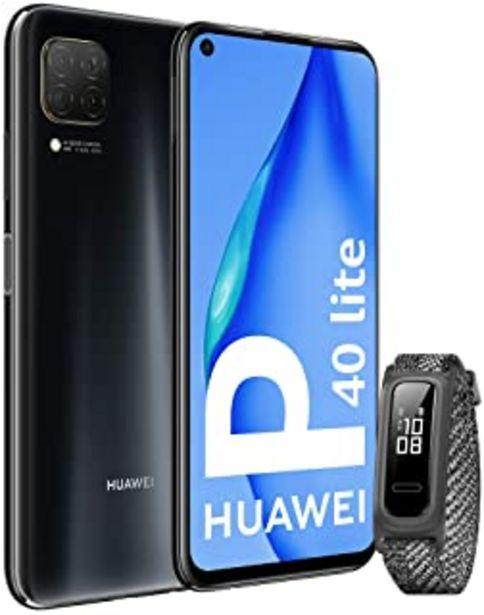 "Oferta de HUAWEI P40 Lite - Smartphone con Pantalla de 6.4"" FullView (Kirin 810, 6 GB de RAM,128 GB de ROM, 48MP, Cuádruple cámara, ... por 229€"