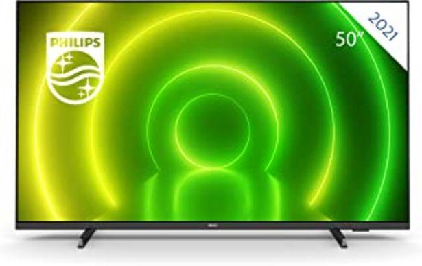 Oferta de Philips 50PUS7406 Smart TV UHD LED Android de 50 Pulgadas con Ambilight, Imagen HDR Vibrante, Sonido Dolby Vision y Atmos ... por 501,68€