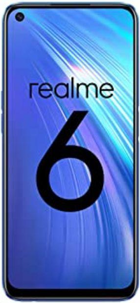 "Oferta de Realme 6 – Smartphone de 6.5"", 8 GB RAM + 128 GB ROM, Procesador OctaCore, Cuádruple Cámara AI 64MP, Dual Sim, Color Comet... por 213,87€"