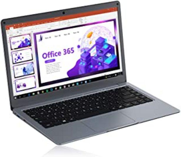Oferta de Jumper Ordenador Portátil Microsoft Office 365, Laptop FHD 13,3 Pulgadas,4GB DDR3,64GB eMMC, Memoria Expandible 1TB SSD y ... por 279,99€