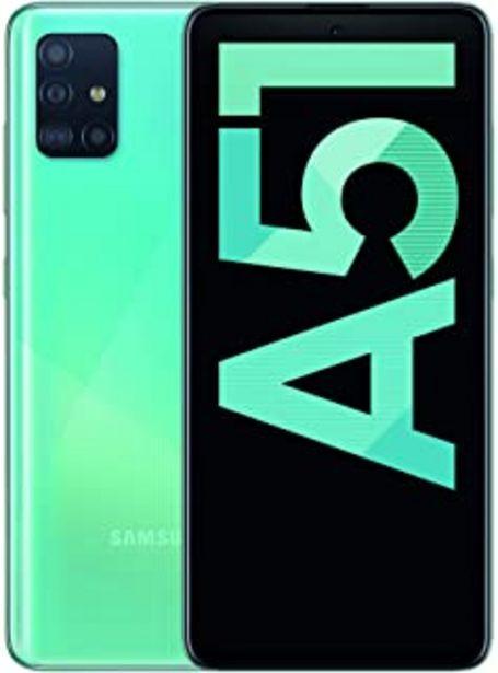 "Oferta de Samsung Galaxy A51 - Dual SIM, Smartphone de 6.5"" Super AMOLED (4 GB RAM, 128 GB ROM, cámara Trasera 48.0 MP + 12.0 MP + 5... por 224,72€"