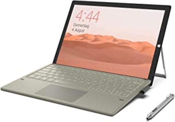 Oferta de Jumper Ordenador portatil 12 pulgadas Intel i7-7Y75, 8 GB + 256 GB SSD, tablet PC 2 en 1, pantalla táctil IPS FHD 2160x144... por 649,99€