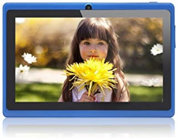 Oferta de JEJA Tablet Android Google de 7 pulgadas PC 4.2.2 8GB 512MB DDR3 A23 Dual Core 1.5GHz Cámara capacitiva de la pantalla Wi... por 42,99€