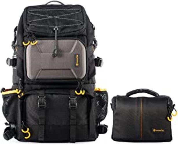 Oferta de TARION Pro PB-01 Mochila Camara Grande Profesional Mochila Fotografia para Laptop Trípode Cámara Réflex Ordenador Impermea... por 90,94€