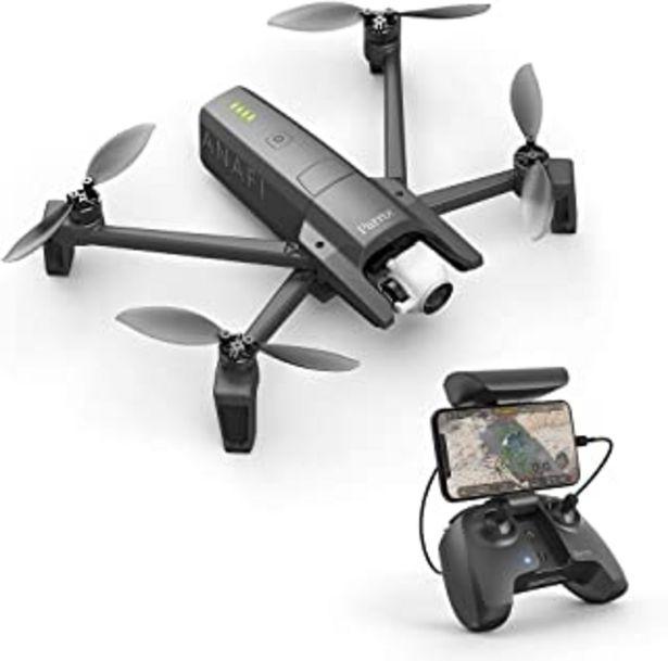 Oferta de Parrot Anafi - Dron cuadricóptero (4K HDR, 21 Mpx, slow-motion y hyperlapse, 15 m/s, 25 minutos de vuelo, gimbal 180º) + M... por 579,99€