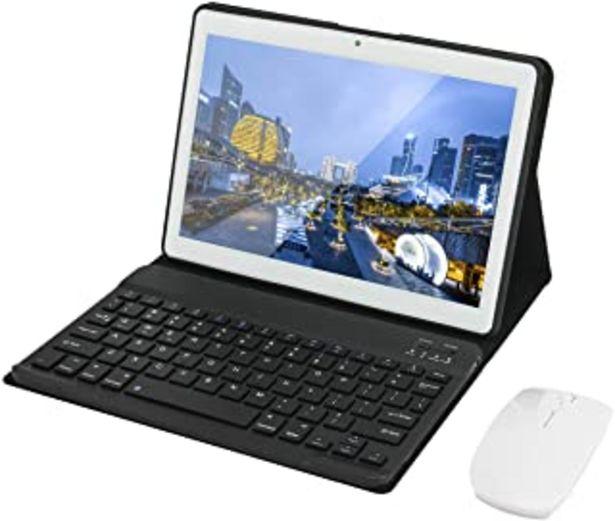 Oferta de HOTREALS, Tableta Android de 10.1 Pulgadas, Tableta con Sistema operativo Android de Cuatro núcleos, 4 GB de RAM y 64 GB d... por 109,99€