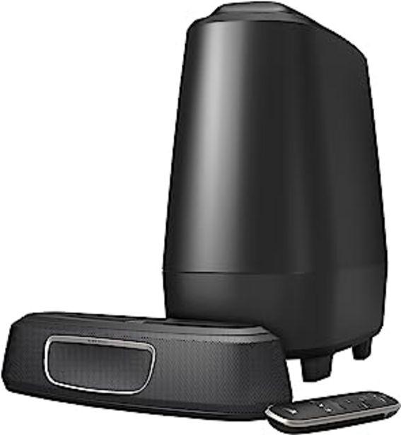 Oferta de Polk Audio MagniFi Mini - Barra de Sonido y Subwoofer Inalámbrico, con Asistente de Google, Bluetooth, color Negro por 254,15€