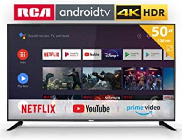 Oferta de RCA RS50U2 Android TV (50 Pulgadas 4K Smart TV con Google Assistant), Chromecast Incorporado, HDMI+USB, Triple Tuner, 60Hz por 344,99€