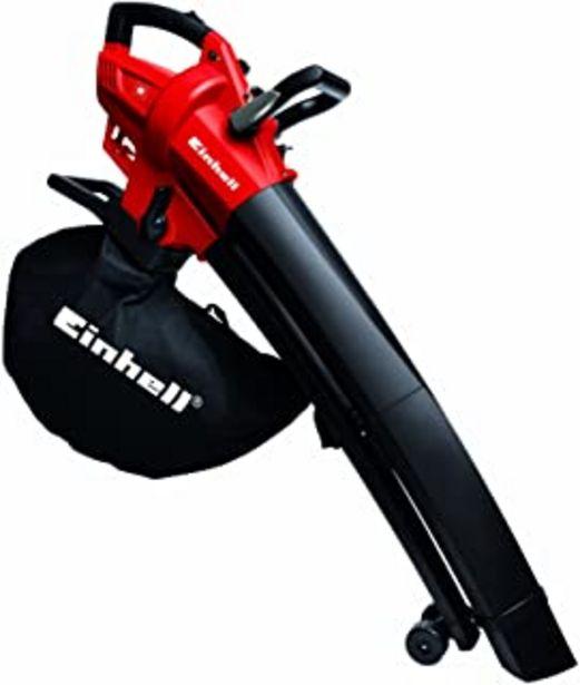 Oferta de Einhell Aspirador- soplador triturador eléctrico (GC-EL 2600 E), saco de 45 l, 270Km/h, 2600 W, 230V (ref. 3433290) por 69,95€