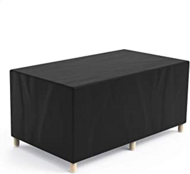 Oferta de Govvay Cubierta de Muebles de Jardín Funda Protectora para Muebles Impermeable Anti-UV 420D Oxford Protección Exterior Mue... por 19,99€