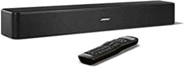 Oferta de Bose Solo 5 - Barra de sonido para televisores, negro por 198€