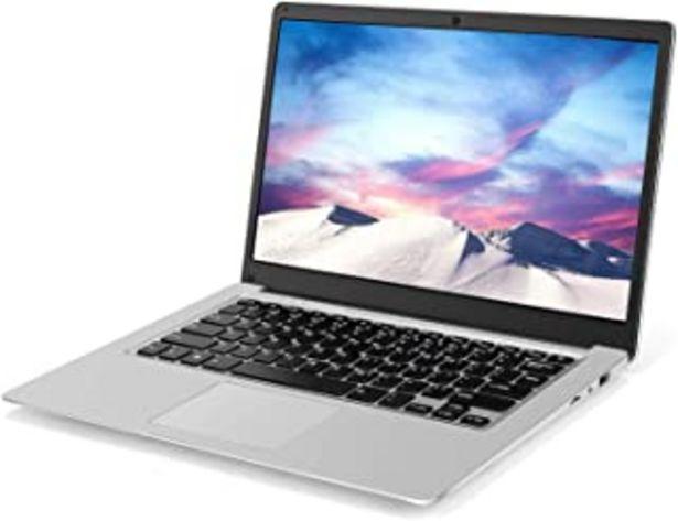 Oferta de Laptop de 13,3 Pulgadas (Intel Celeron J3455 de 64 bits, 6GB DDR3 RAM, SSD de 128GB, batería de 10000mAH, cámara Web HD, W... por 252,99€