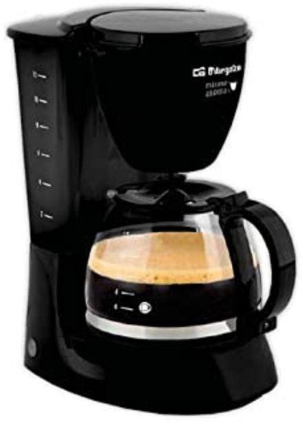 Oferta de Cafetera de goteo ORBEGOZO CG4060N | ORBEGOZO 12 tazas por 25,24€