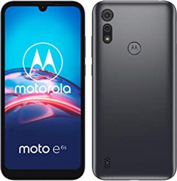 """Oferta de Motorola Moto e6s (Pantalla 6,1"""" HD+, Procesador MediaTek Helio P22, 2GHz Octa-Core, cámara Dual de 13MP, batería de 3000 ... por 89€"""