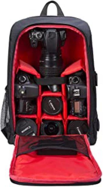 Oferta de Selighting Mochila Fotográfica Multifunción y Impermeable para Cámaras Réflex Digital SLR Lentes Trípode Flash Laptop Port... por 31,58€