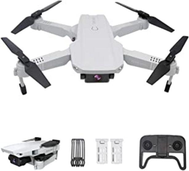 Oferta de 3T6B Mini RC Drone con Cámara 4K, Drones para Principiantes, Dual Cámara, Posicionamiento de Flujo óptico, Fotografía de G... por 64,99€