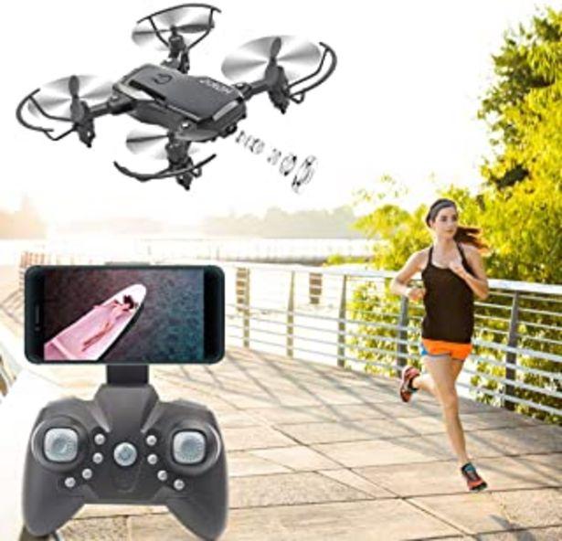 Oferta de Cámara 4K Drone con Cardán para Adultos, FPV Drone Plegable 5G WiFi Video en Vivo para Principiantes, GPS Regresar a Inici... por 36,9€