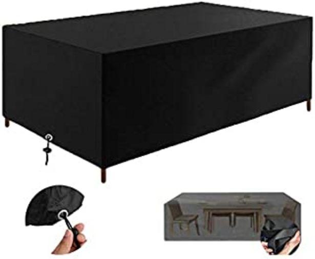Oferta de Fundas Muebles Jardín, Impermeable Cubierta de Exterior Funda Patio Protectora Muebles 210D Oxford Resistente al Polvo Ant... por 21,99€