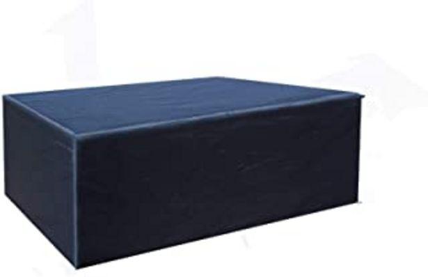 Oferta de Buzazz Fundas de Muebles Oxford Tela Impermeable Resistente al Polvo Anti-UV Protección Exterior Muebles de Jardín Cubiert... por 21,99€