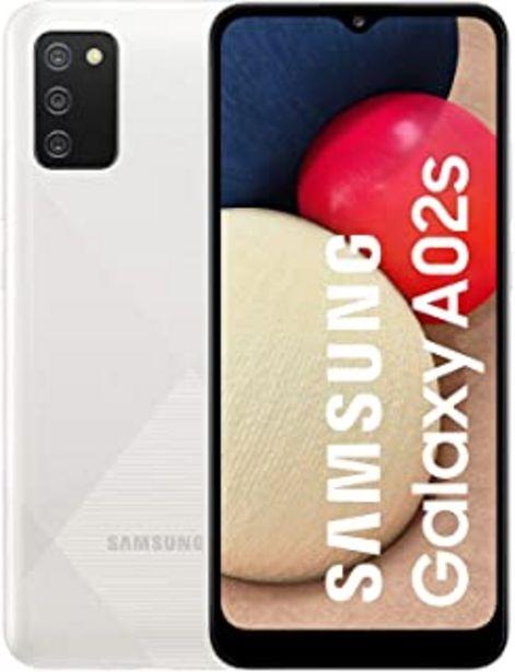 Oferta de Samsung Galaxy A02S - Smartphone 32GB, 3GB RAM, Dual Sim, White por 131,19€