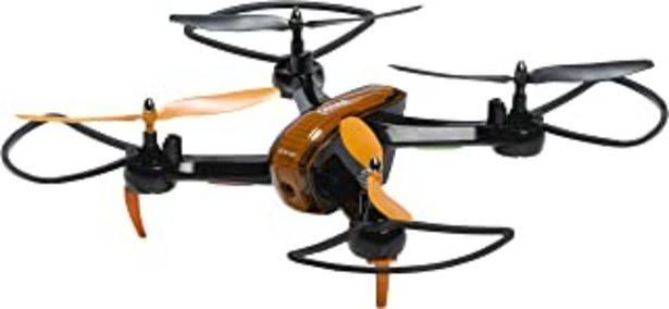 Oferta de Denver DCW-360 4Rotores 0.3MP 640 x 480Pixeles 1000mAh Negro y Naranja Dron con Cámara por 54,36€
