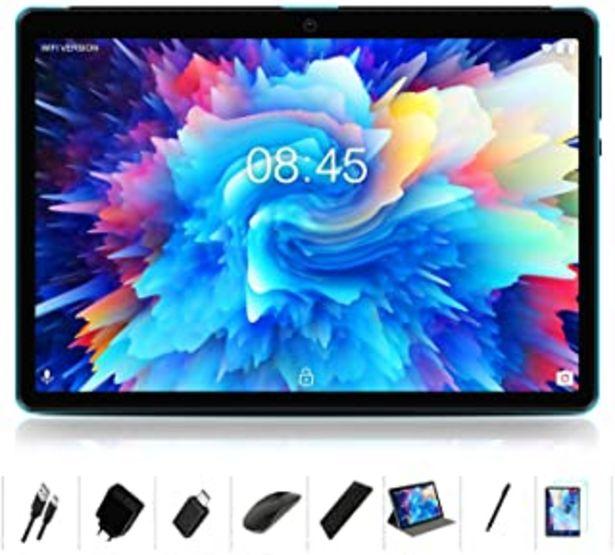 Oferta de MEBERRY Tablet 10 '' HD IPS Ultra Rápido Android 10 Pro 8-núcleos 1.6Ghz Tableta 128GB Expandible - Certificación Google G... por 139,87€