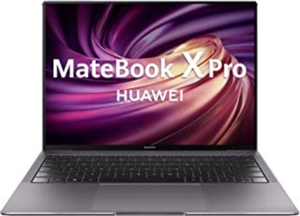 """Oferta de HUAWEI MateBook X Pro - Ordenador Portátil con pantalla táctil de 13.9"""" 3K QHD (Intel Core i7-10510U, 16GB RAM, 1TB SSD, N... por 1399€"""
