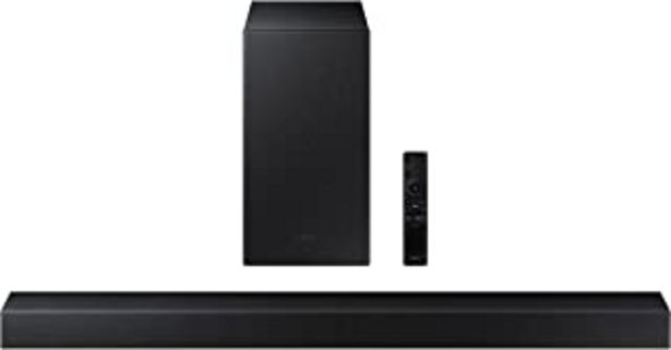 Oferta de Samsung Barra de Sonido HW-A430 - Dolby Digital 2ch, DTS 2.0ch, Potencia de Sonido 270W, Subwoofer Incluido, Refuerzo de B... por 169€