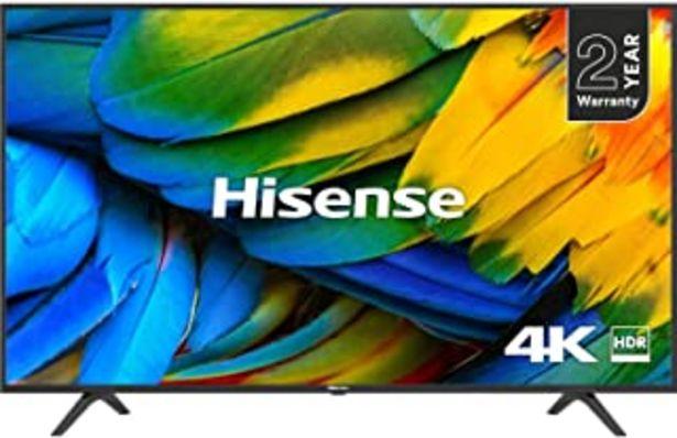 Oferta de HISENSE H65B7100 TELEVISOR 65H65B7100 4K Smart Aqc, Negro por 544,63€