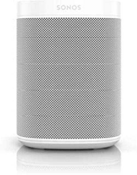 Oferta de Sonos | One SL Altavoz Inteligente Sin Micrófonos, Multiroom y Streaming WiFi, Control App Sonos Controller, Compatible iO... por 159,2€