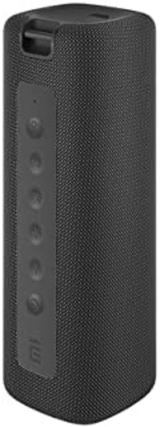 Oferta de Xiaomi Altavoz Bluetooth portátil con Sonido estéreo Fuerte, 13 Horas de reproducción, IPX7 Resistente al Agua, micrófono ... por 38,99€