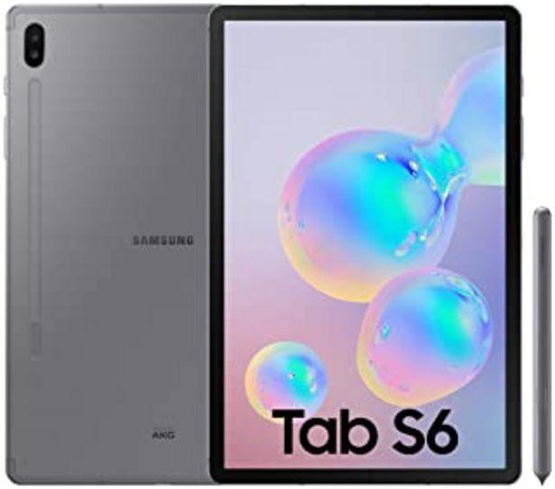 """Oferta de SAMSUNG Galaxy Tab S6 Tablet de 10.5"""" (128 GB, S Pen Incluido, Pantalla sAMOLED, LTE) Gris por 728,27€"""