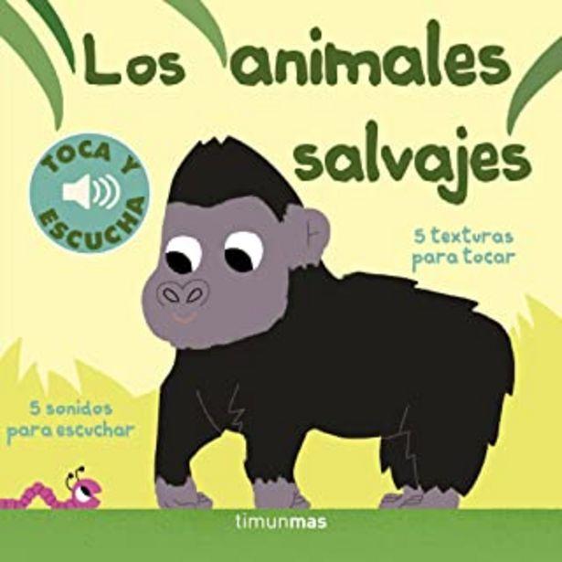 Oferta de Los animales salvajes. Toca y escucha (Libros de texturas y sonidos) por 11,35€