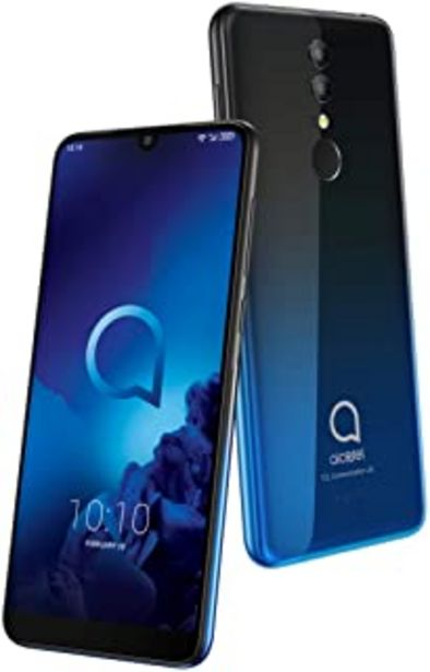 Oferta de Alcatel 3 - Smartphone (RAM de 3 GB, Camara 13 MP, bateria 3500 mAh, Android), Color Azul por 125€