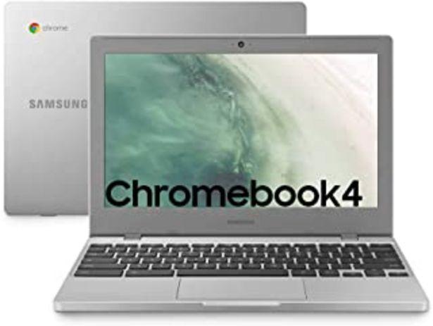 Oferta de Samsung Chromebook 4 - Laptop 64GB, 4GB RAM, Platin Titan por 279,9€