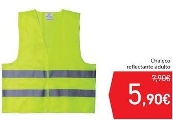 Oferta de Chaleco reflectante adulto  por 5,9€