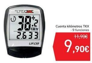Oferta de Cuenta Kilómetros TKX  por 9,9€